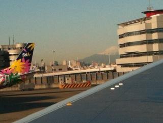 羽田空港_富士山